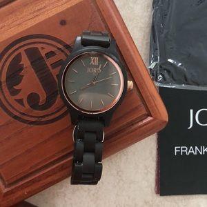 JORD FRANKIE35 Series Wooden Watch - EUC